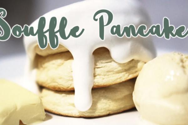 """Souffle Pancakes"", Japanese, easy to make"